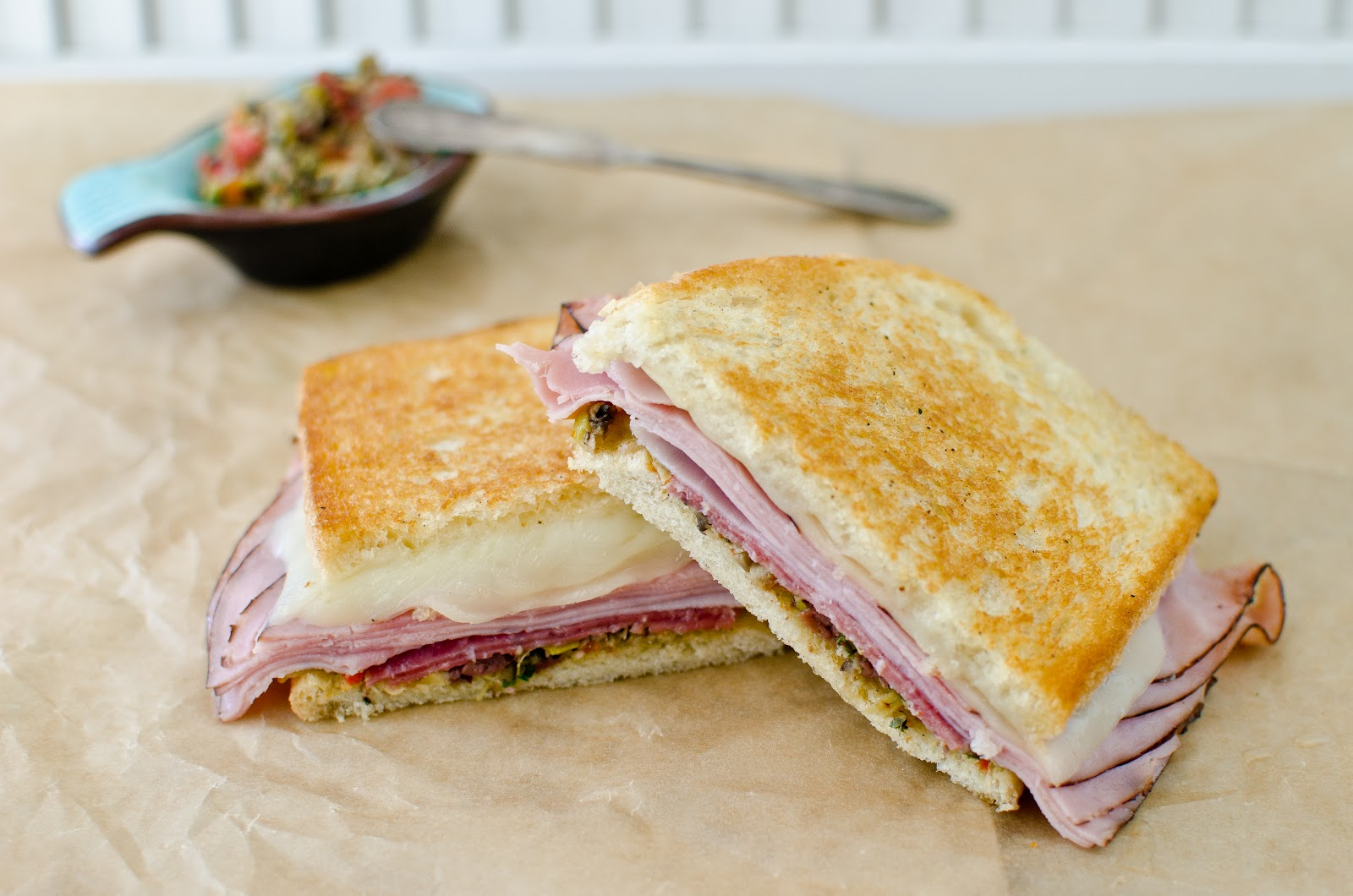 The Church Cook: Mock Muffaletta Sandwich & Olive Salad