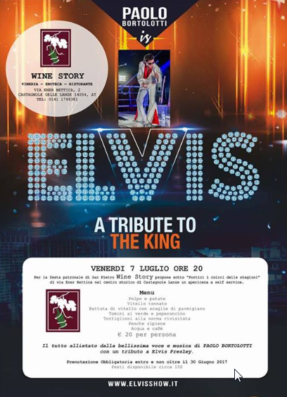 ELVIS - Elvis tribute