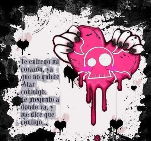 Corazones+rotos+de+emos+enamorados