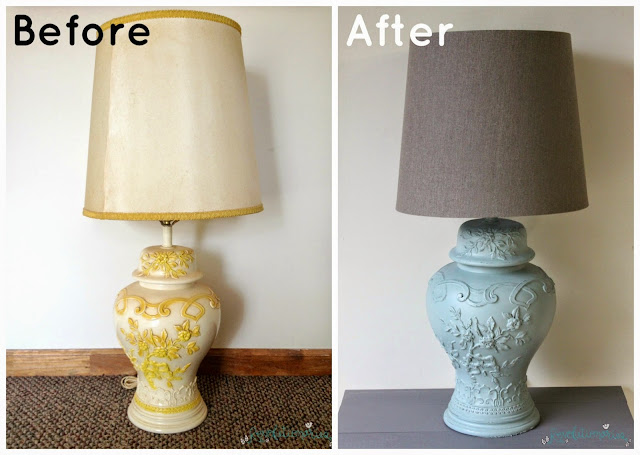 Before and After: The Ugly Vintage Lamp