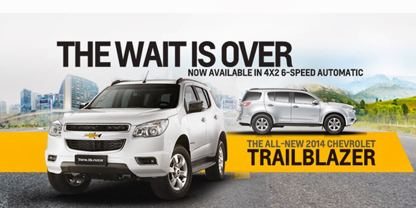 Chevrolet launches 2014 Trailblazer with new engine, 4x2 automatic