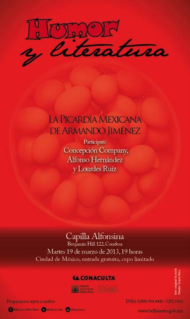 Humor y literatura, la picardía mexicana de Armando Jiménez