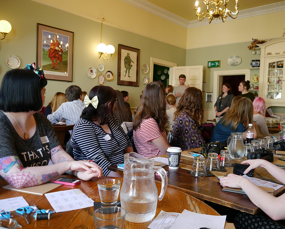 Hillarys crafternoon, Crafty Hen, how to, sewing, instructions, DIY, Glasgow, bloggers, gathering, Scottish bloggers,