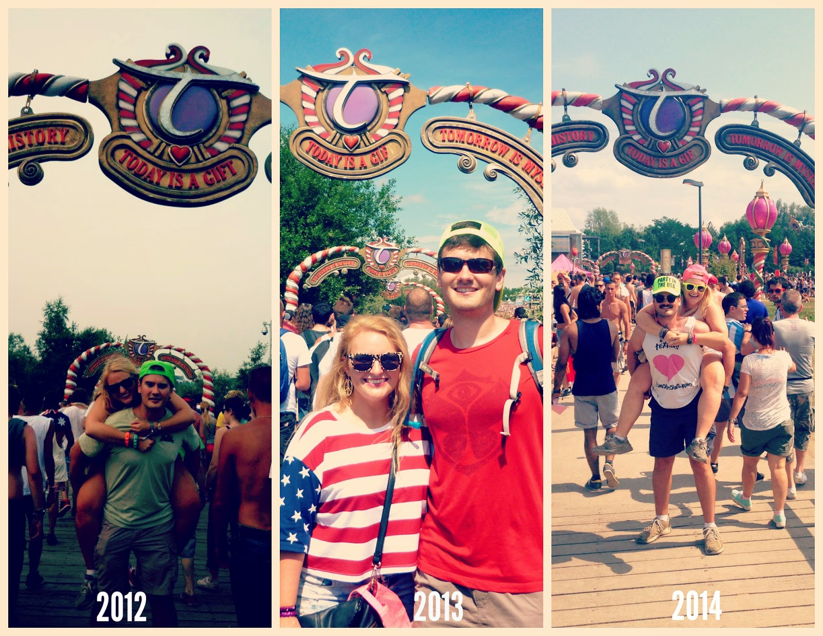 Tomorrowland through the years