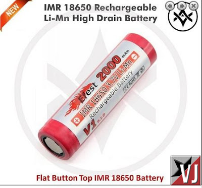 Effest 2000mAh 18650 batteries