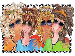 imagens para decoupage de mulheres hippies