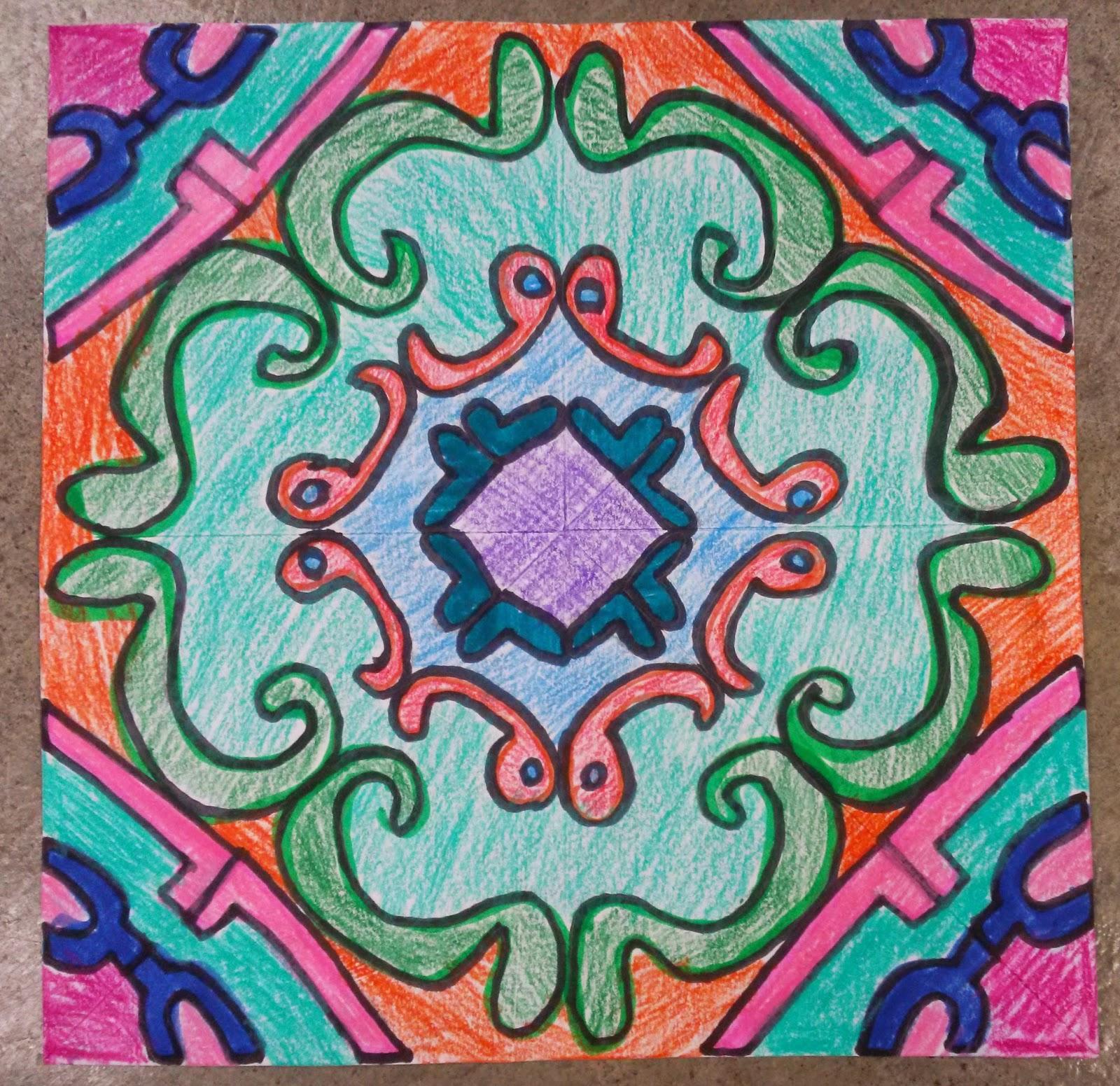Name Design Art : J p elder middle school art kaleidoscope name design