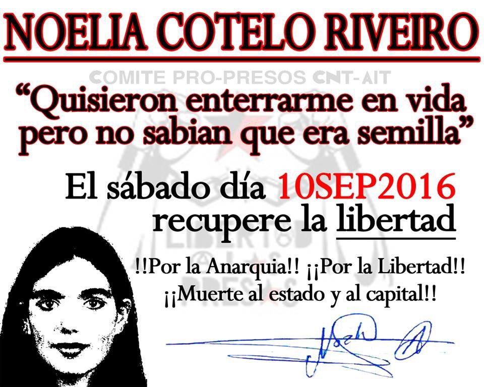 Entrevista a Noelia Cotelo ¡LIBRE! 7-10-2016