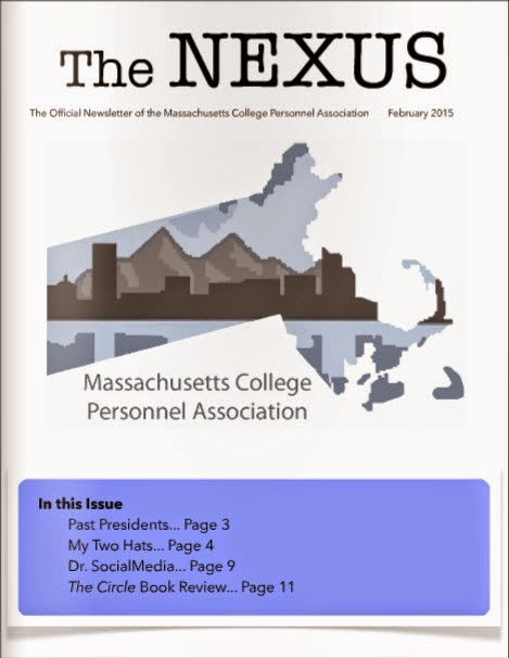 The Nexus - February 2015 with an article from Lance Eaton.
