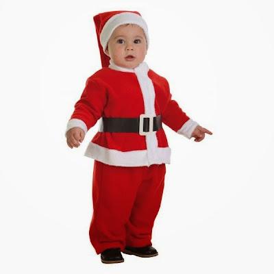 El arte de educar como hacer un disfraz de papa noel con - Disfraz papa noel nino ...