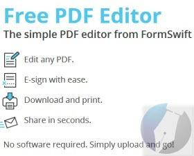 موقع يمكنك من التعديل على ملفات PDF مجانا وبدون برامج