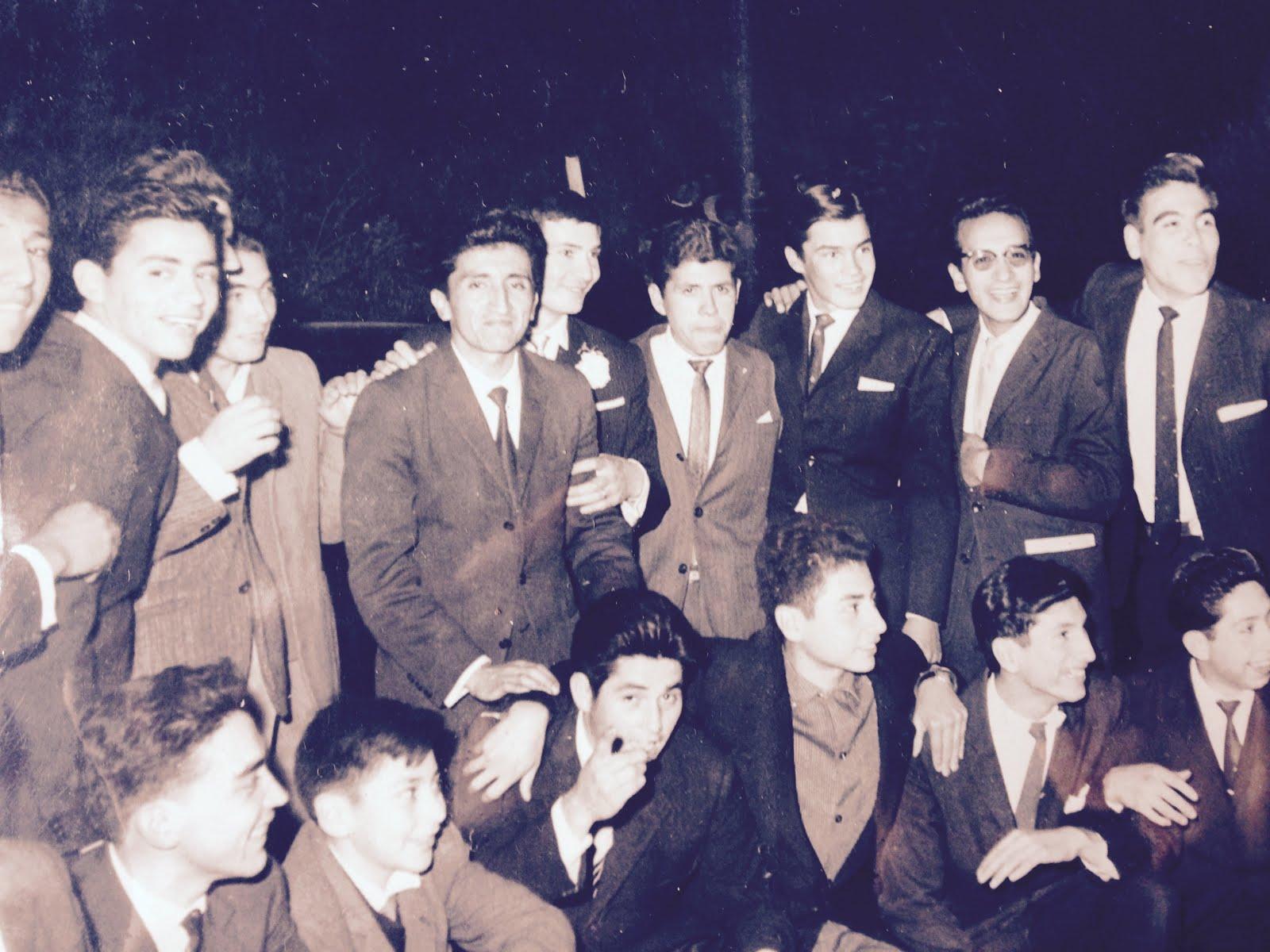 Jóvenes del Centro Ana Mangiamarchi 1962