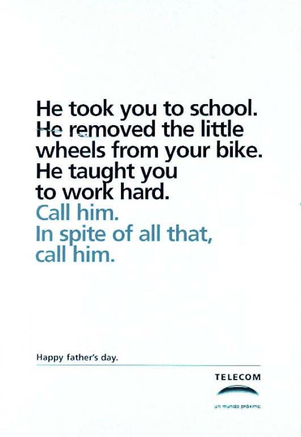 16 Most Creative Father S Day Advertisements 1 Design
