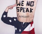 Yo no hablo americano solo hablo de mi locura