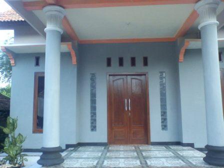gambar desain teras rumah gaya klasik dan modern