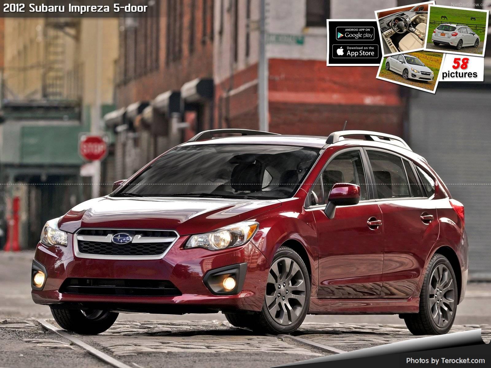 Hình ảnh xe ô tô Subaru Impreza 5-door 2012 & nội ngoại thất