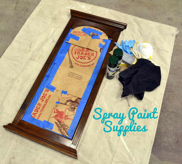 Spray Paint Supplies Mirror Painter'sTape Spray Paint