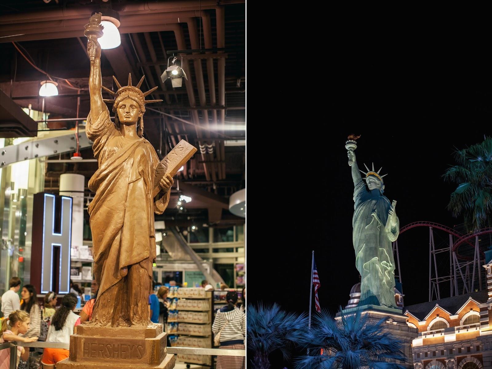 statue of liberty hersheys las vegas