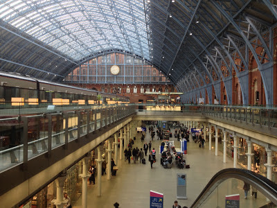 London St. Pancras Station