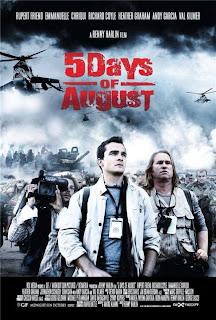 5 Dias de Agosto Poster