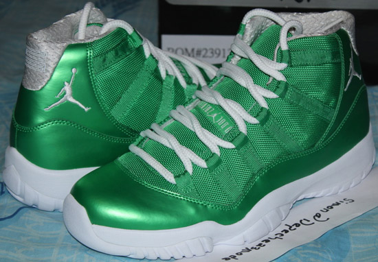 jordan 11 green