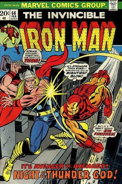 Iron Man #66, Thor