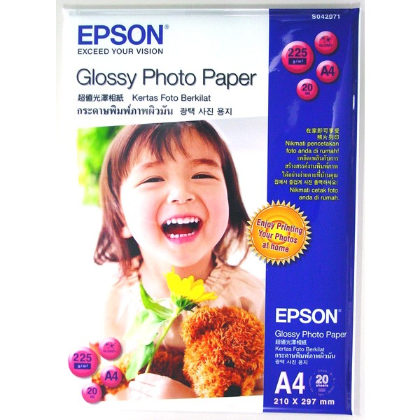 how to use glossy photo paper