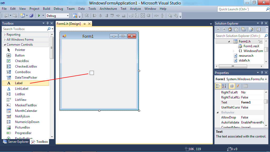 Visual C++ CLR Windows Forms Application on Microsoft Visual Studio ...