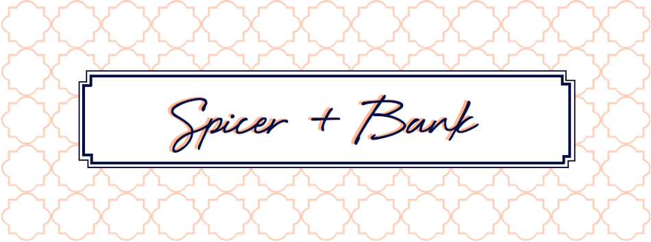 Spicer + Bank: by Allison Egan