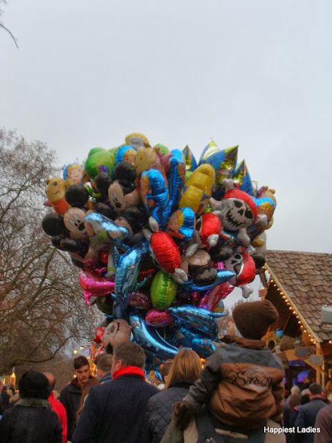 Balloons at Winter WOnderland