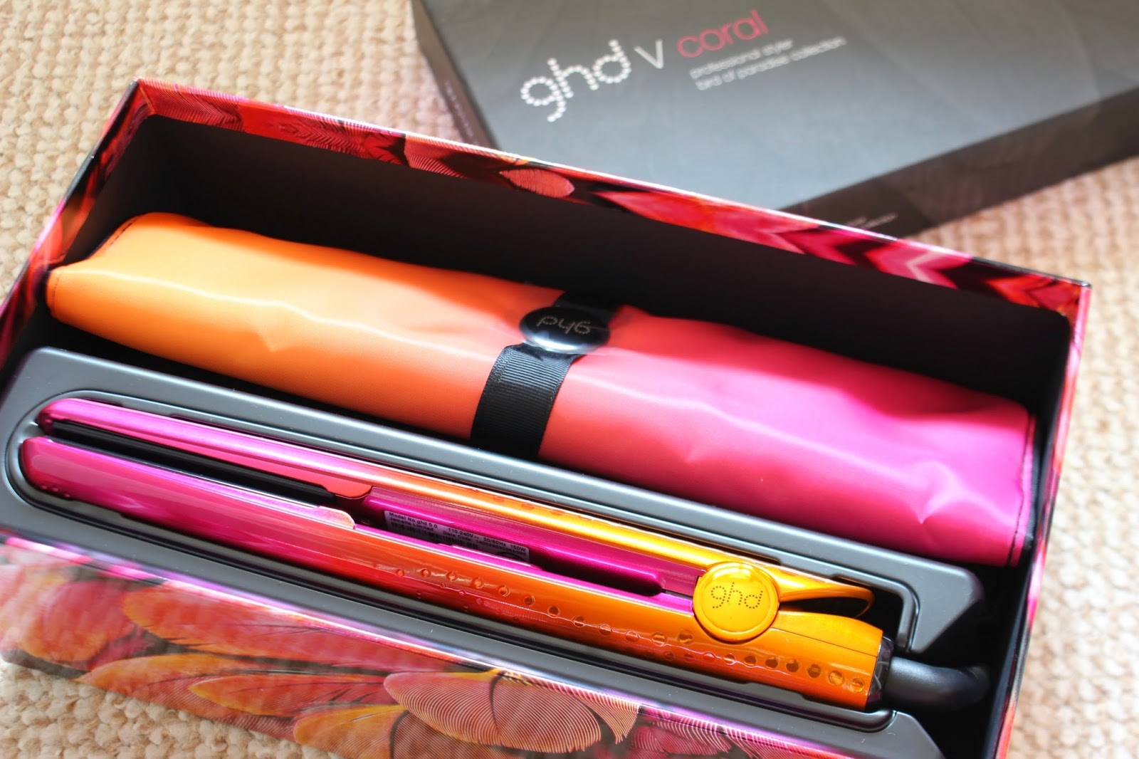 #FeelUniqueFriday // ghd Limited Edition V Coral Styler