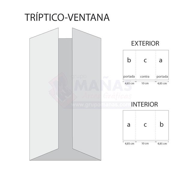 triptico ventana
