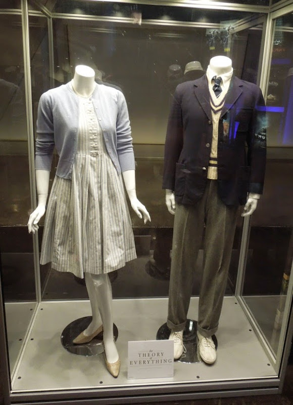 Felicity Jones Eddie Redmayne Theory of Everything movie costumes