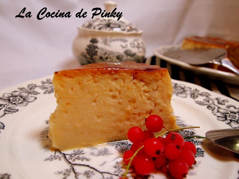FLAN DE CLARAS Y VAINILLA  Flan+de+claras+y+vainilla+2