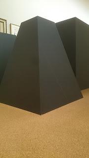 藤田展会場の謎の物体