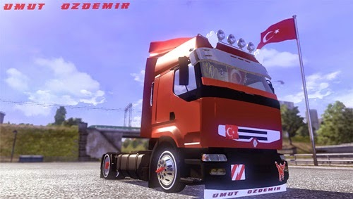 ets2 modları, euro truck simulator 2 modları, ets 2 türk yapımı yamalar, ets2 kamyon yamaları, ets2 tır yamaları, ets2 renault yamaları, renault, euro truck simulator araba, simulator