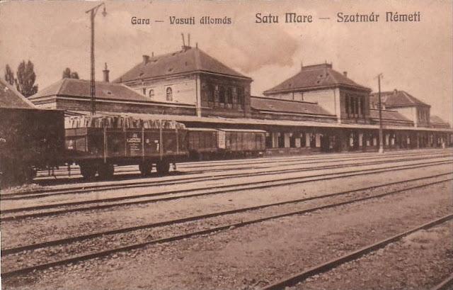Gara din Satu Mare