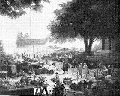 Óleo del Mercado de Zúrich en 1962