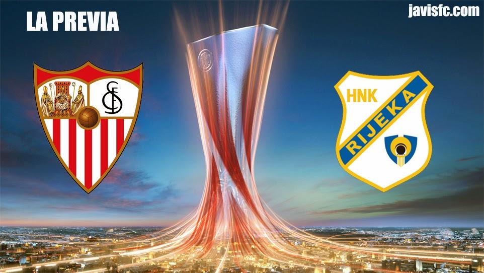 Previa Sevilla FC Vs HNK Rijeka