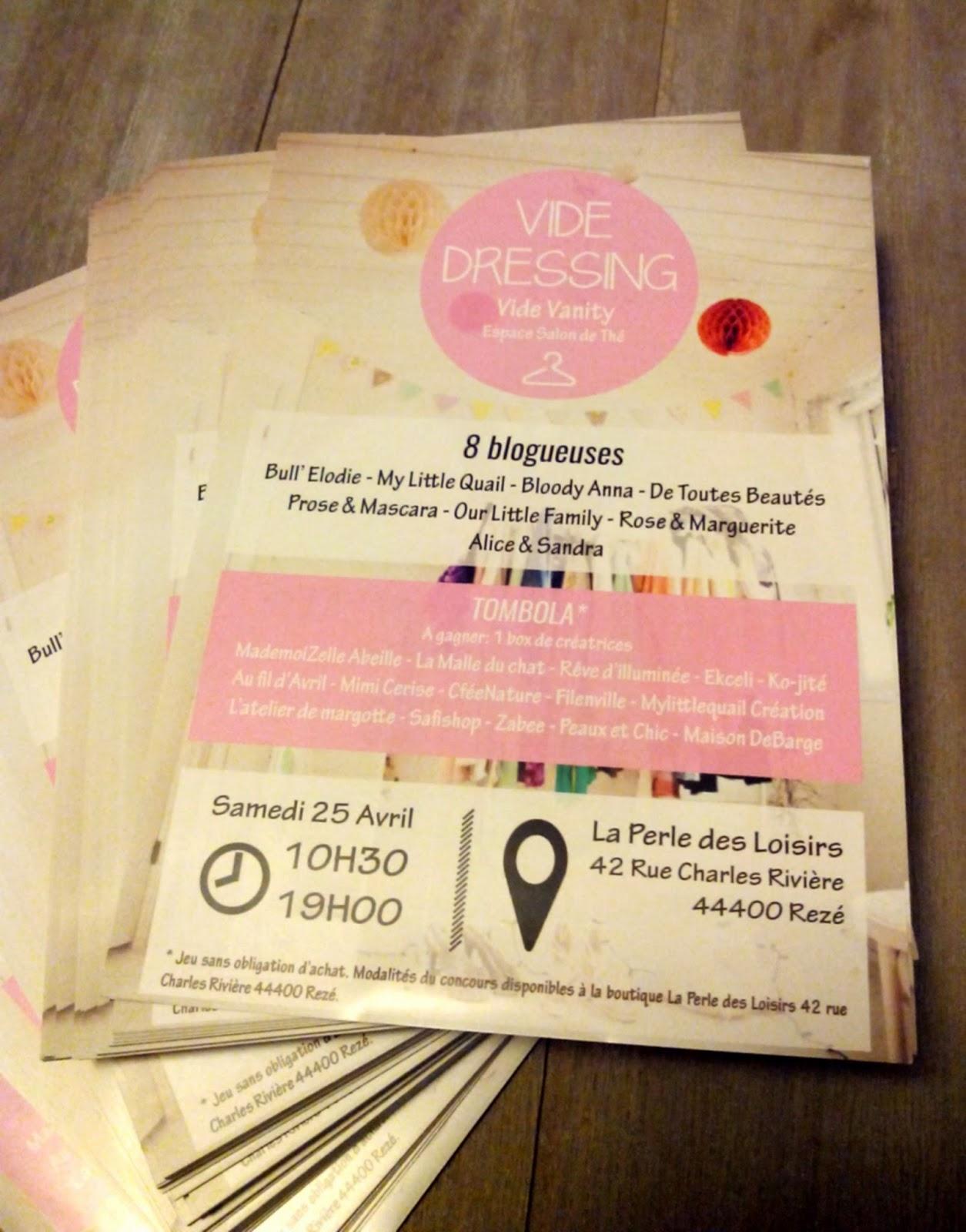 flyers, vide-dressing, vide-vanity, blog, blogueuses, shopping, bullelodie