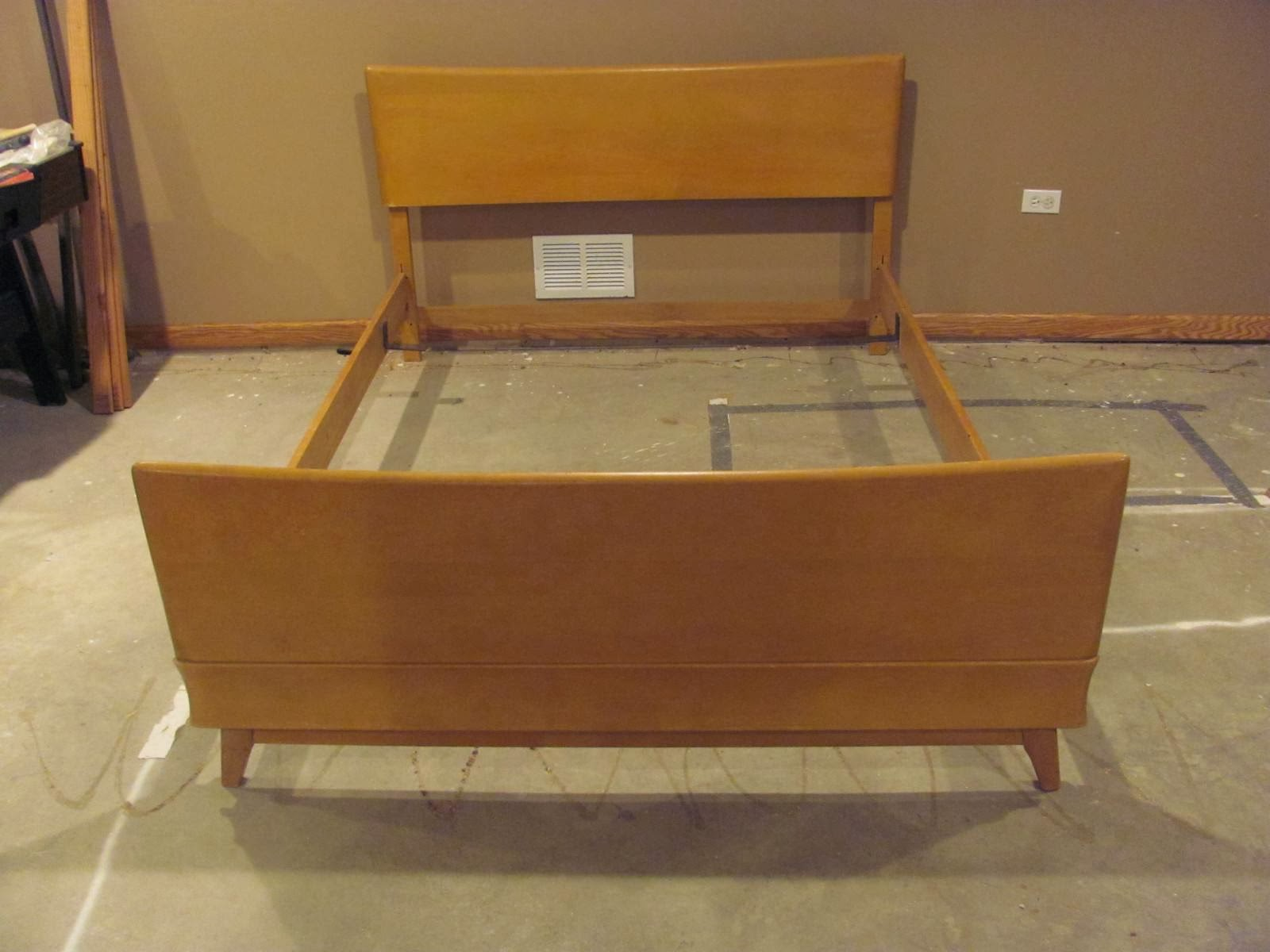 middle class modern: super affordable mid-century modern style beds