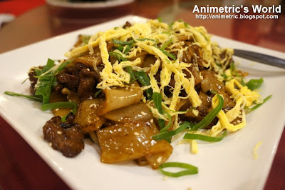 Stir Fried Beef with Hofan at Lucky Rainbow Seafood Restaurant