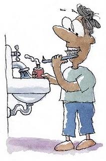 Penelitian: Ternyata Menggosok Gigi Dengan Tangan Kanan Berbahaya [ www.BlogApaAja.com ]