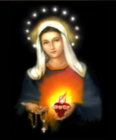 SATURDAY - THE IMMACULATE HEART OF  MARY