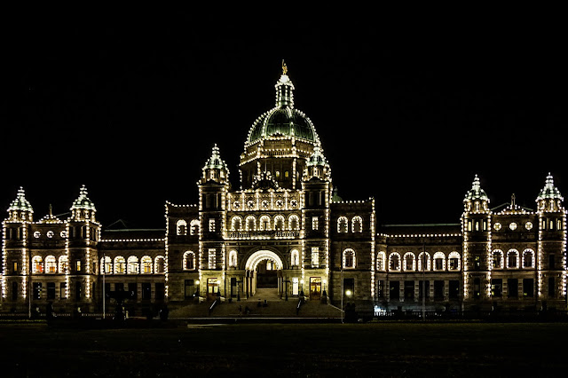 The Parliament Building- Victoria- British Columbia-Canada