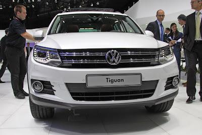 volkswagen tiguan updated