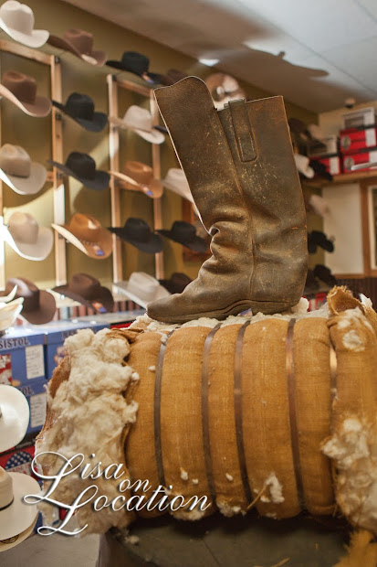 Texas Boot Company, Bastrop and Austin commercial photography by Lisa On Location of New Braunfels