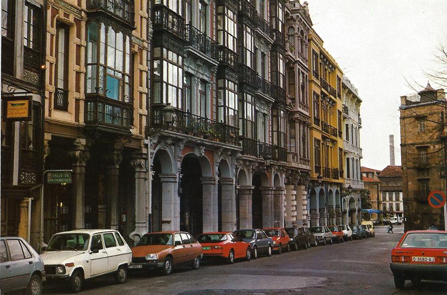 Avilés, San Francisco, 1989