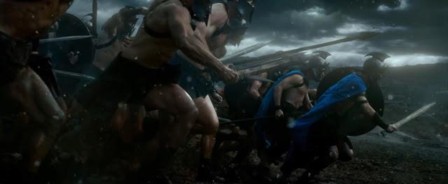 300 L'alba di un impero - la carica degli Ateniesi