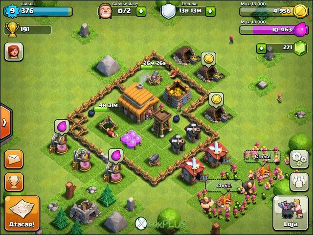 Guia de Iniciante para Clash of Clans Wall+level+1